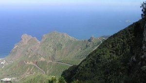 Die Küste von Teneriffa