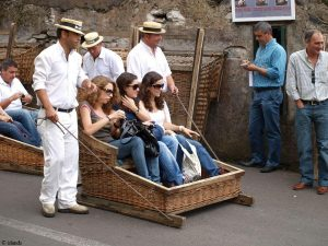 Im Korb nach Funchal