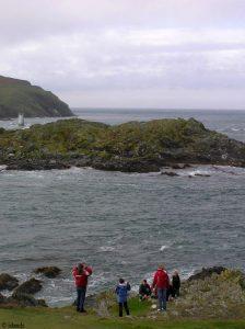 Wandern entlang der Küste von Isle of Man