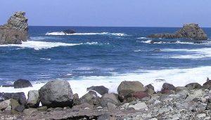 Atlantik bei Teneriffa