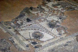 Römische Ausgrabungen in Brading