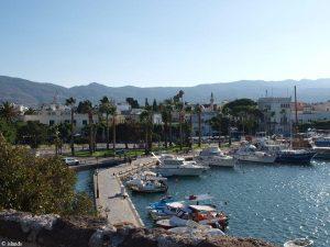 Die Hafenpromenade von Kos-Stadt