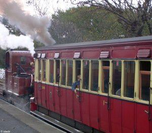 Dampfeisenbahn von Man